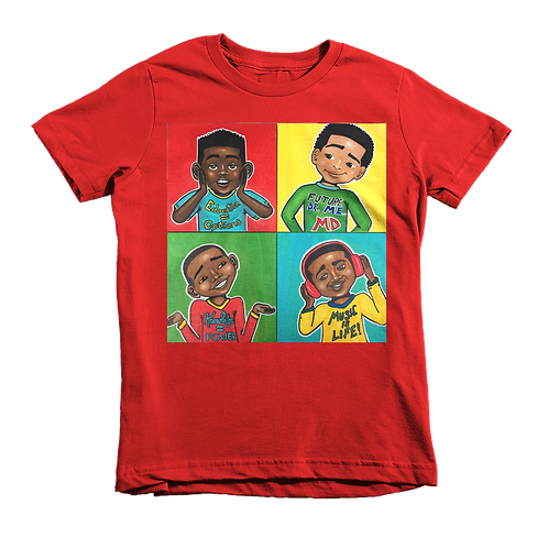 """Four Kings"" Kid's Tee"