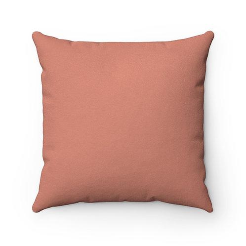 Iam... S, P, K, I Suede Square Pillow