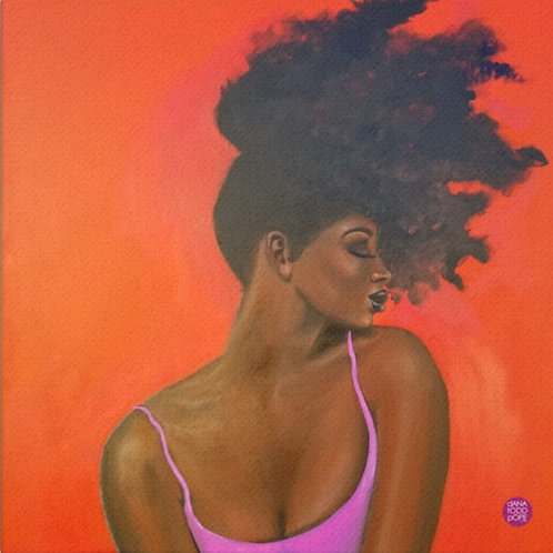 Pretty (For a Dark Girl) Original Painting