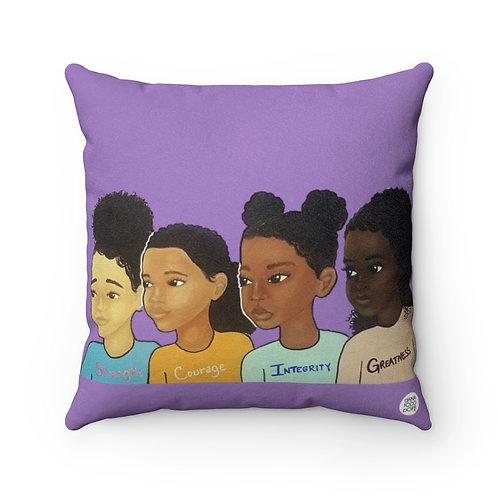 SCIG (Girls) Square Pillow