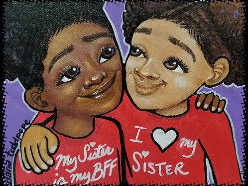 """Sisterly Love"" Print"