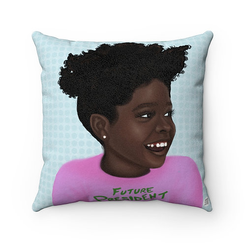 Future President 2021 Square Pillow