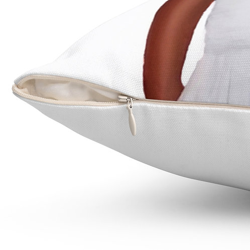 Because Being Black in a White Space is a Real Thing... IV Premium Square Pillow