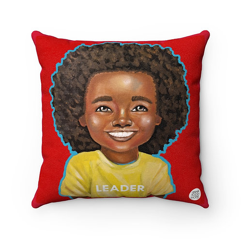 All Smiles (Leader) Square Pillow