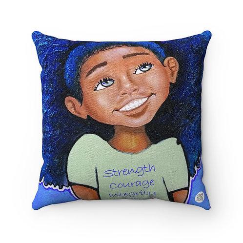 SCIG Girl Square Pillow