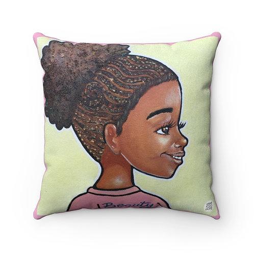 Beauty Square Pillow