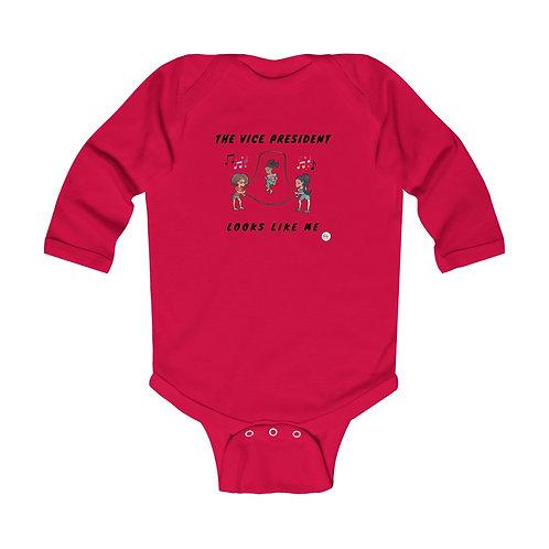 Vice President Infant Long Sleeve Bodysuit