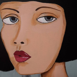 This is Natalia._Natalia is the painting that sold today