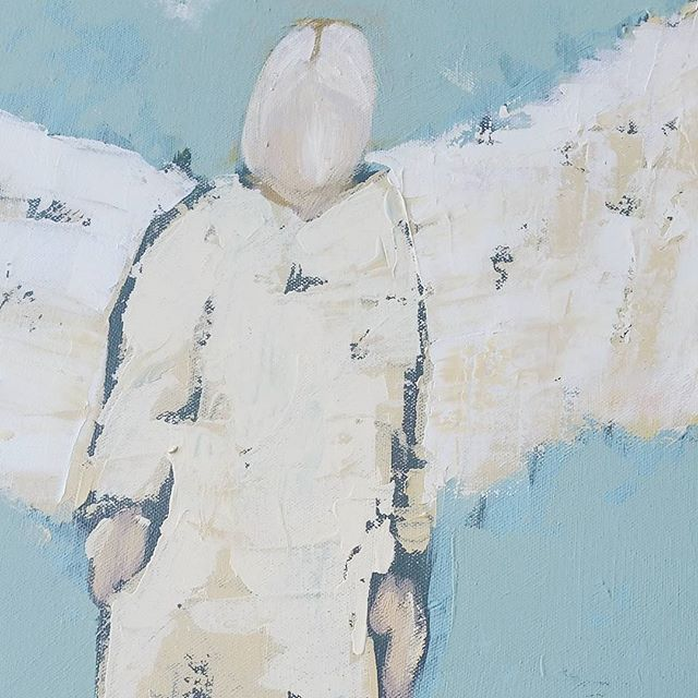 Joy_#nava&co #painting #acrylic #angels