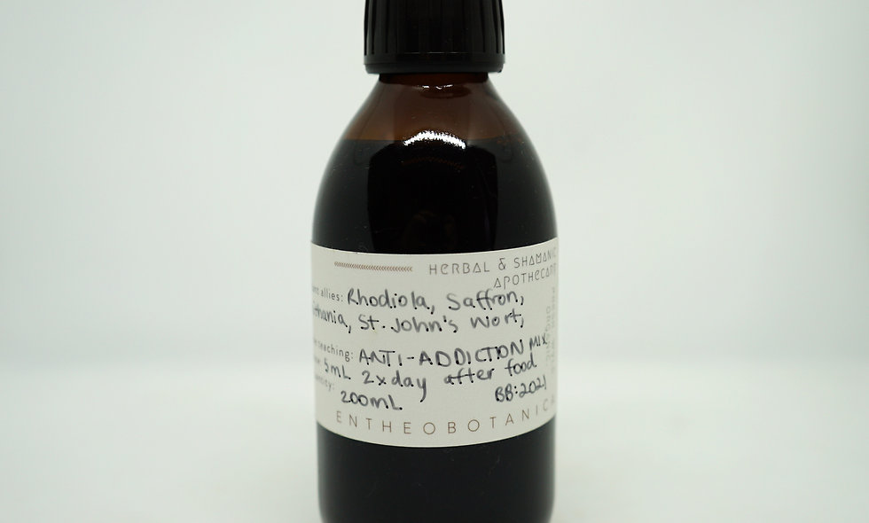 Addiction Recovery Tincture ||
