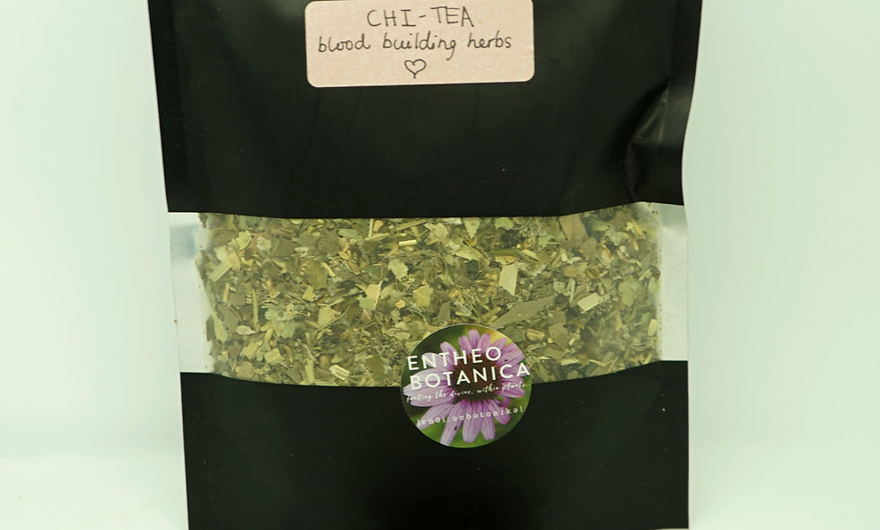 Chi Tea Herbal Mix || Blood Building, Vitality and Energy
