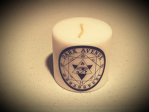 "Dark Avenue 3""  Pillar Candle"