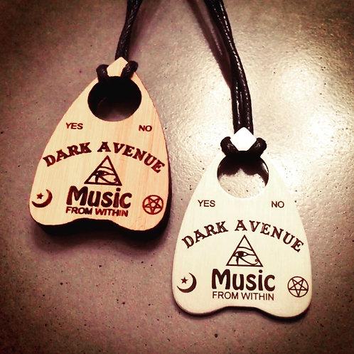 Dark Avenue Planchette Necklace (Aluminum)