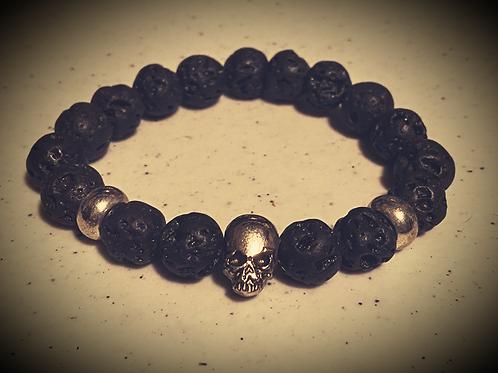 Official Dark Avenue Skull Bracelet