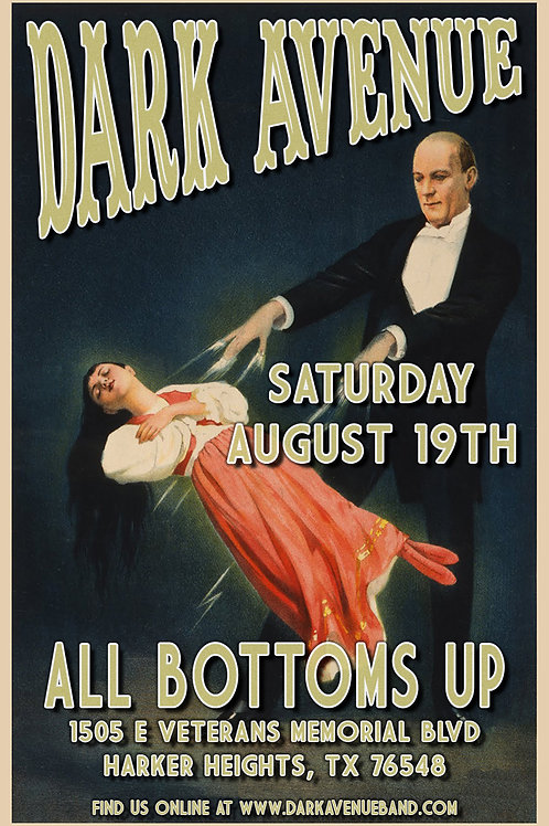 All Bottoms Up Poster concert poster