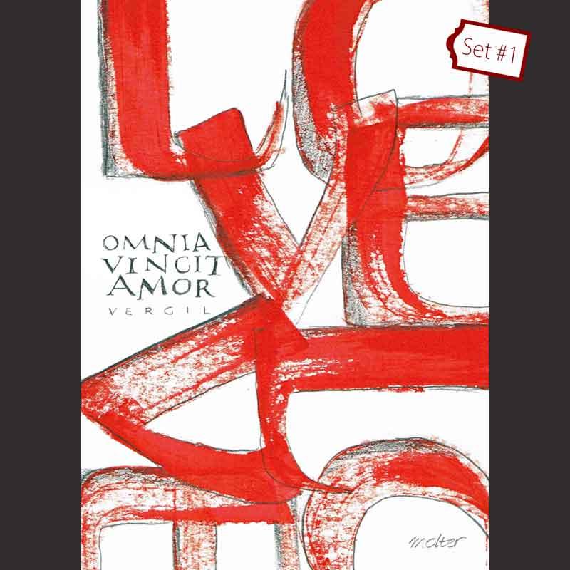 omnia vincit amor [Vergil]