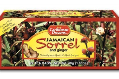 Caribbean Dreams Tea - Jamaican Sorrel and Ginger tea