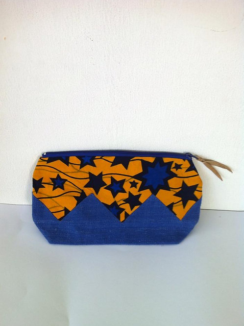 African Youth Apparel - Clutch bag - Blue Star