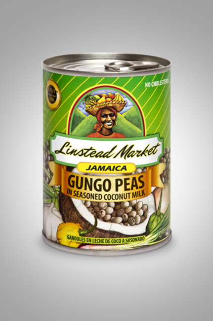 Linstead Market Gungo Peas in seasoned coconut milk