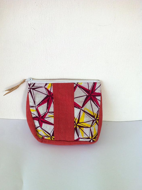 African Youth Apparel - wallet bag - Red Star