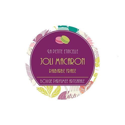 Joli Macaron avec bijou argent 190 Gr