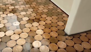 DIY Penny Floor Guide | How to make your own penny floor