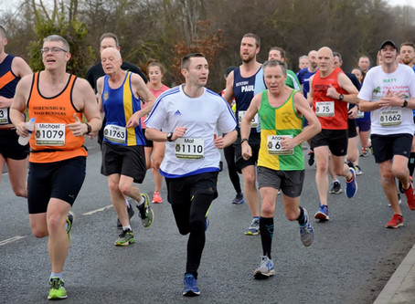 Wrexham, Rugeley and Parkrun for Harriers