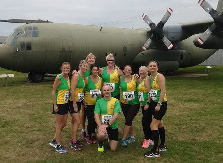 Harriers Cruise the Spitfire 10k