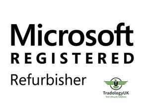 TradologyUK Ltd Granted Microsoft Registered Refurbisher Status