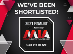 Shortlisted for Startup of the Year at MIA Awards 2021