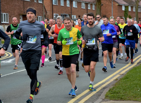 Harriers Triumph at Local Races
