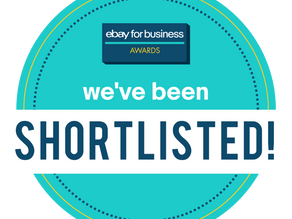 Shortlisted for eBay for Business Award 2020