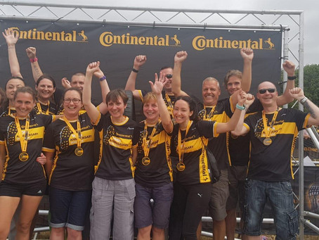 Harriers on form at the Conti Thunder Run 2018