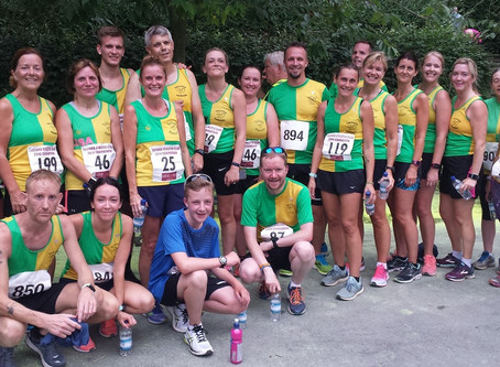 Harriers at Vic Musgrove 5k