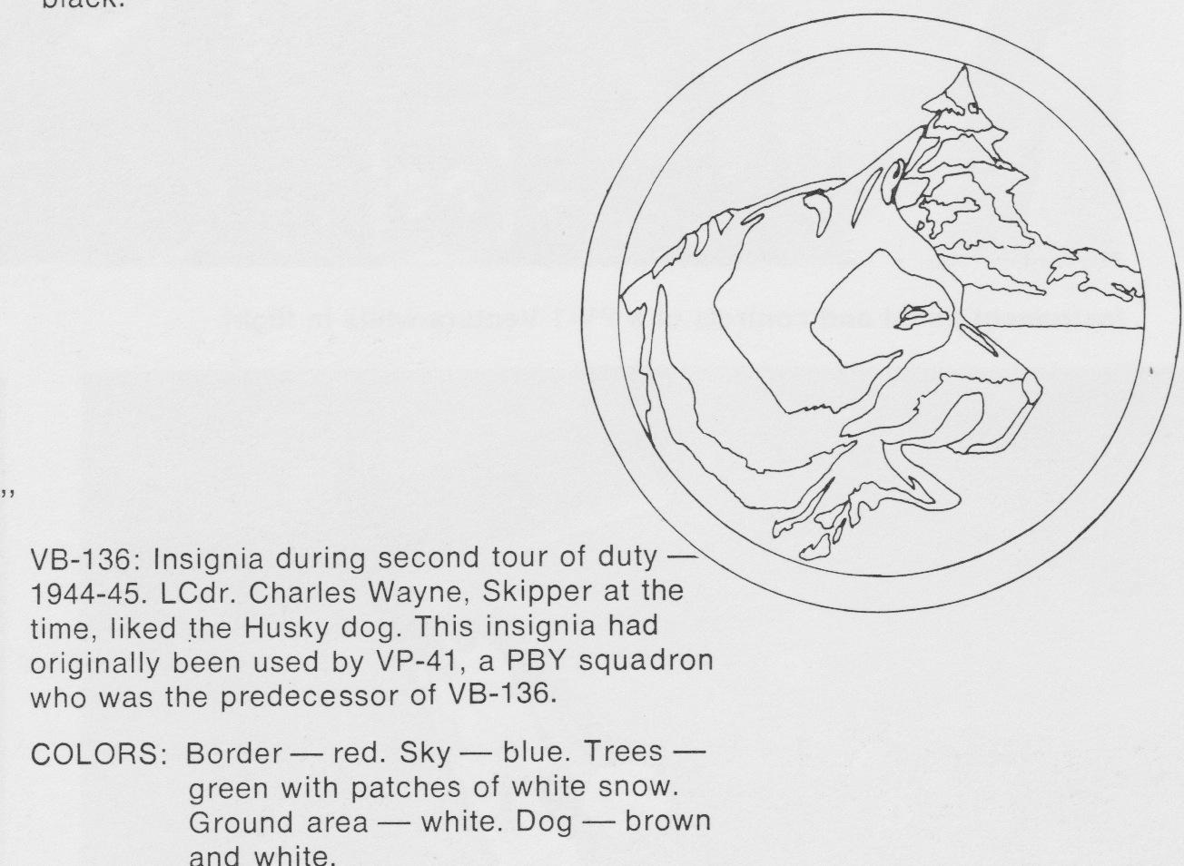 VB-136 logo, 2nd tour