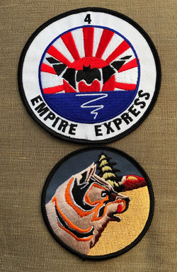 Empire Express and VPB-136 insignia