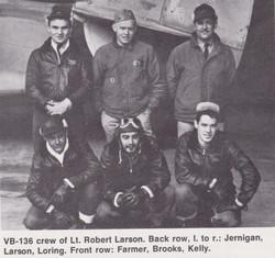 VB-136 Larson crew.