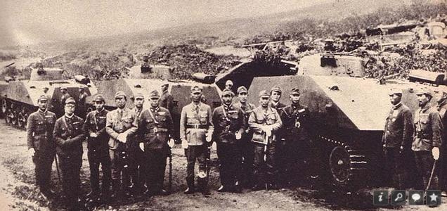 Японские танкисты, Шумшу