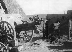 Shumshu Jap Cannons Kataoka