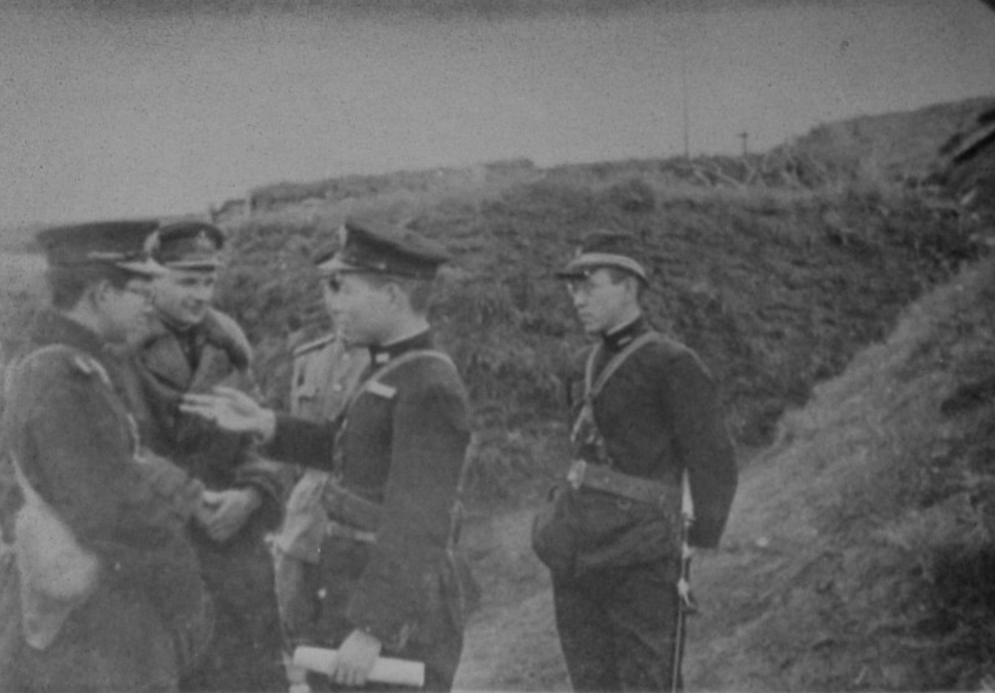 Shumshu Japanese and Soviet Officers