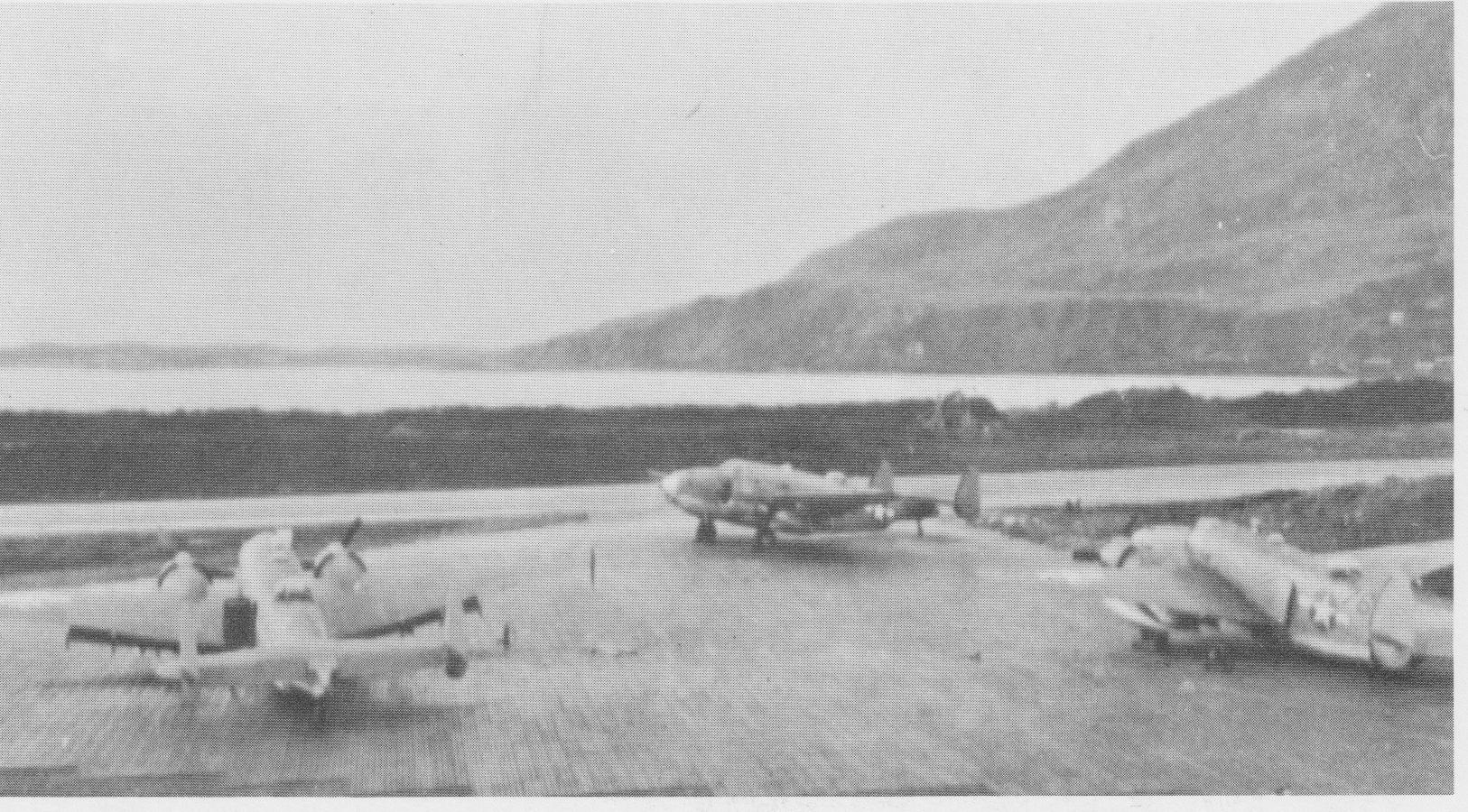 VB-136 Venturas at Casco field.