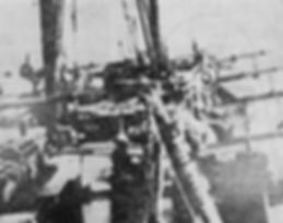 Float fighters on Kimikawa-maru near Paramushir island in end of 1942.