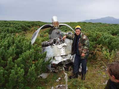 VB-136 75V wrecks, Lopatka