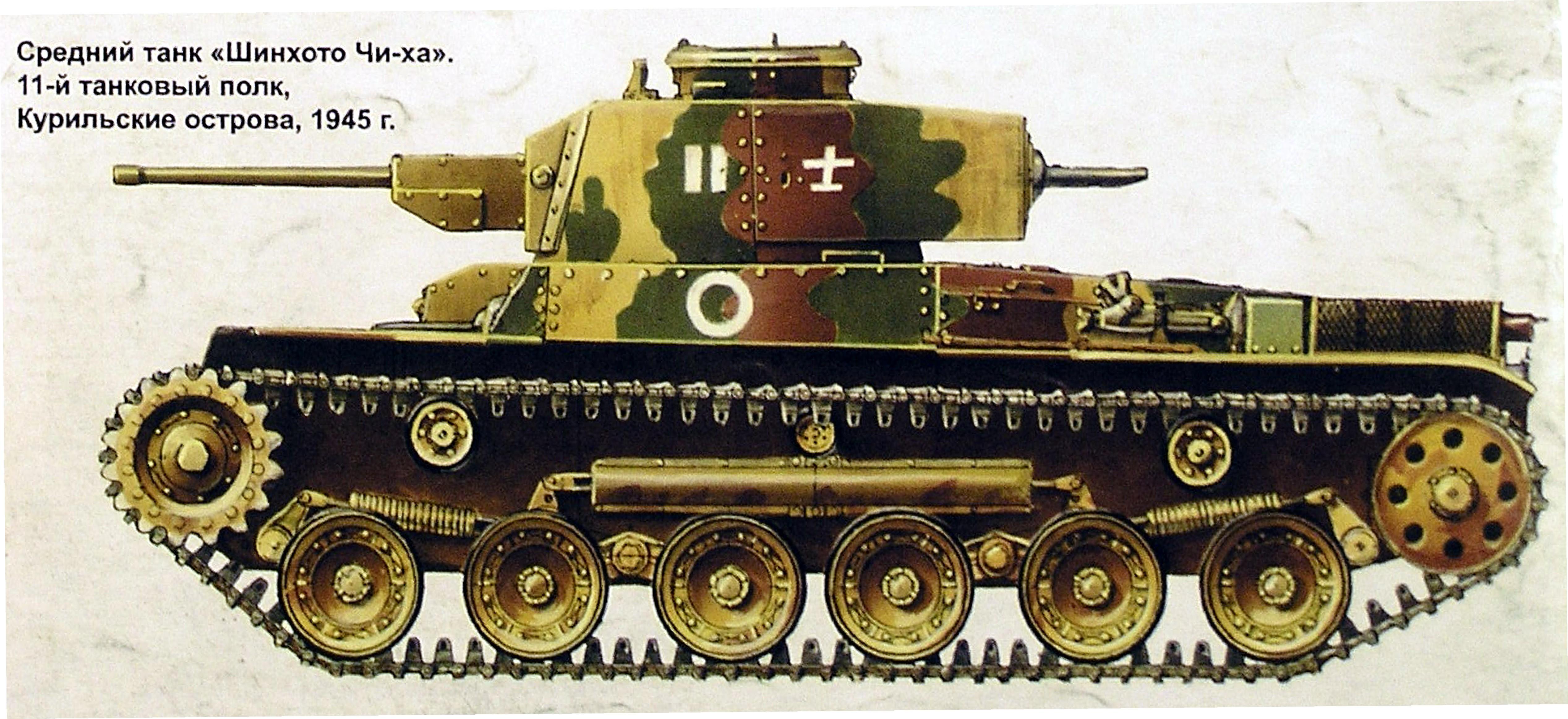 Chi-Ha 11 tank regiment