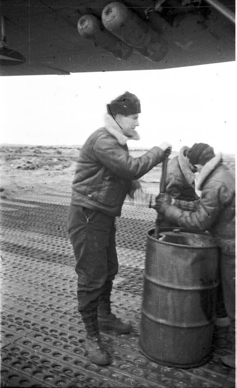 Manual refueling