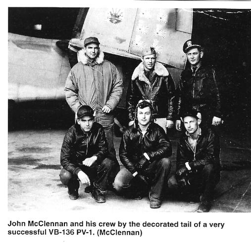 VPB-136 McClennan's crew