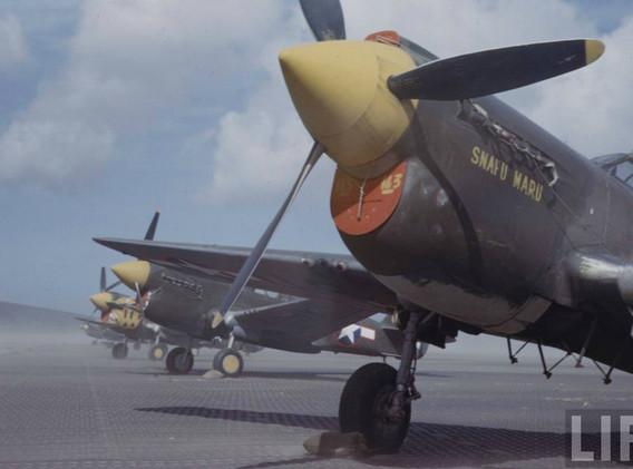 P-40s summer 1943 Amchitka