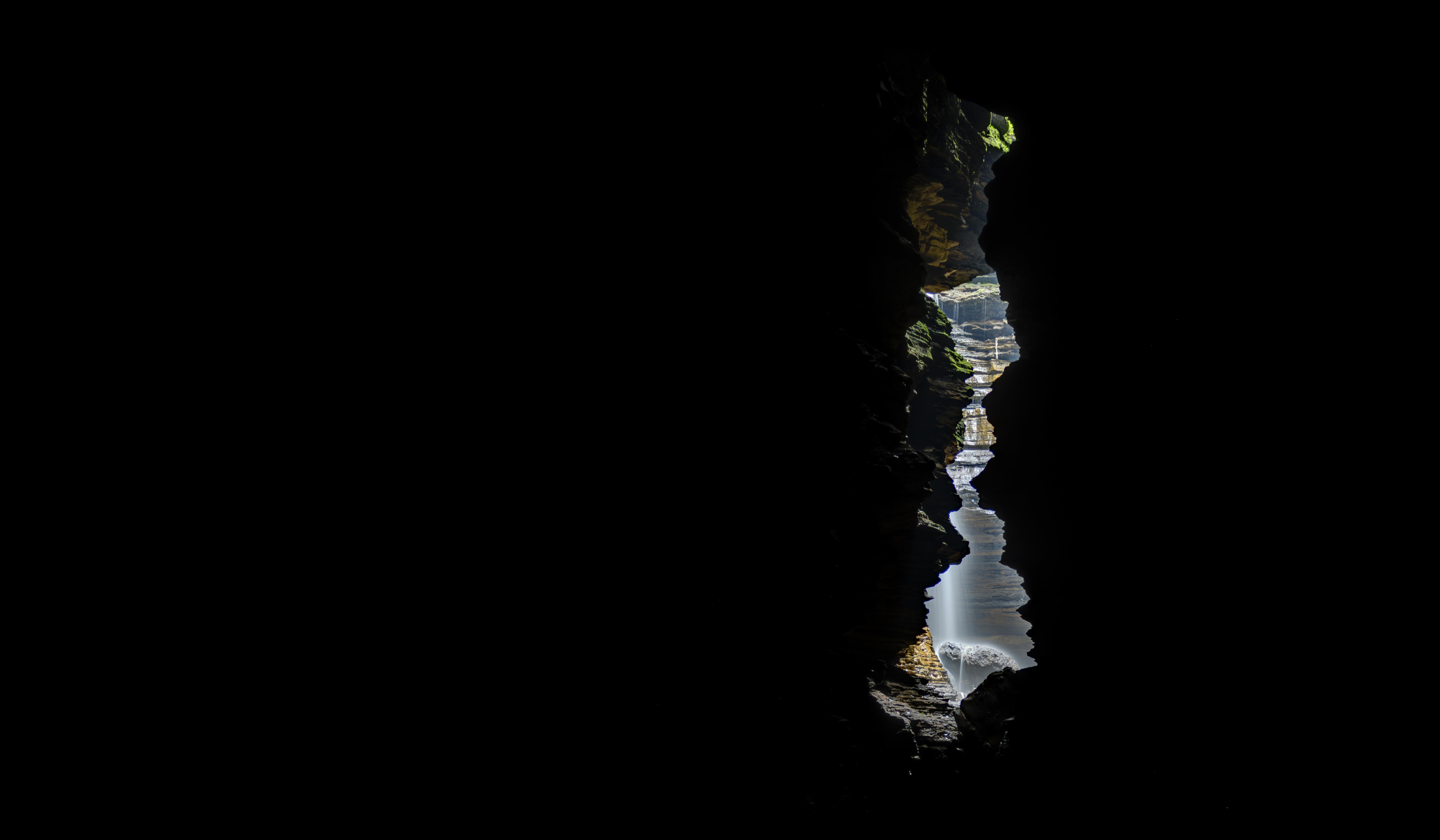 Underground Waterfall, Nepal