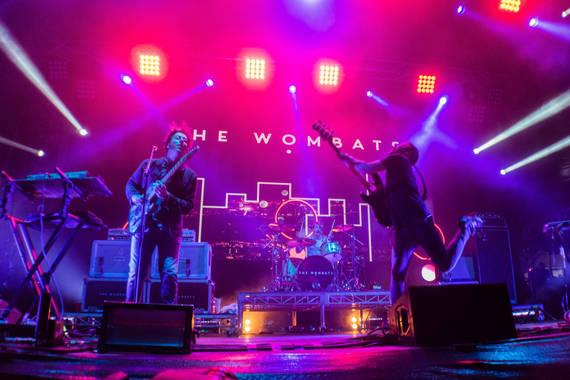 THe Wombats at Groovin the Moo Bendigo 2016