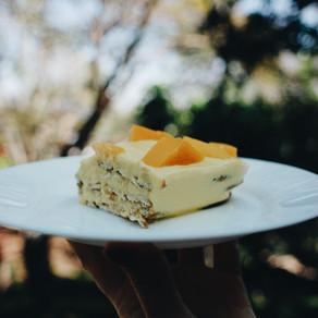 El pay de mango más sencillo del mundo.
